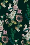 Vintage old flower backgrounds - vintage effect style pictures. You Can use it for textile, clothing and other more Royalty Free Stock Photos