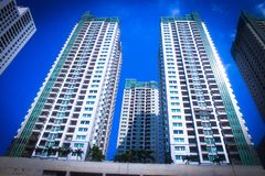 Apartment in Jakarta stock images