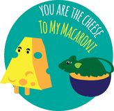 You Are The Cheese Royalty Free Stock Photography