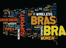 Are You Confused About What Bra You Need Word Cloud Concept Royalty Free Stock Photo