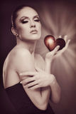 You Could Take My Heart Away. Royalty Free Stock Photography