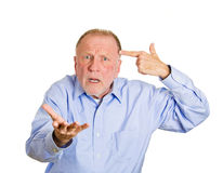 Are you crazy? Stock Images