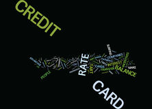 Are You A Credit Card Tart Word Cloud Concept Royalty Free Stock Images