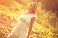 You deserved to go through the maternity journey royalty free stock image