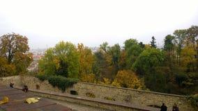 Parks of Prague stock image