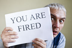 You are fired stock images