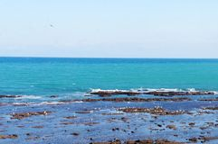 Moroccos Hidden Seaside Town Tangier. When you get around the Tangier ,there are bunch of sea side for you admire the fresh sea and ocean royalty free stock image
