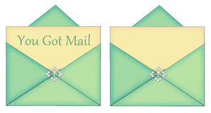 You Got Mail Blank Card With Enevelope Stock Image