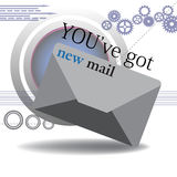 You got new mail Royalty Free Stock Image