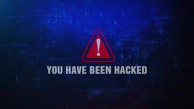 You Have Been Hacked Alert Warning Error Pop-up Notification