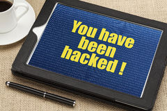 You have been hacked Royalty Free Stock Image