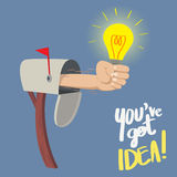 You have Got IDEA! Royalty Free Stock Photos