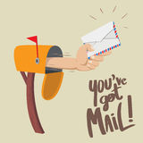You have Got Mail! Stock Images