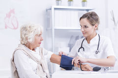 You have a normal blood pressure Stock Images