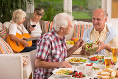 You have to try this salad Stock Images
