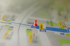 You are here! Royalty Free Stock Images