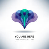 You Are Here Location Pointer Royalty Free Stock Image