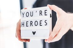 You are heroes concept