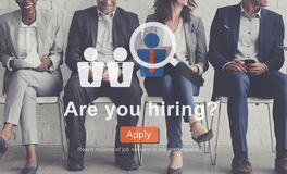 Are You Hiring? Employment Career Job Search Concept Stock Images