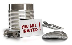You are invited Royalty Free Stock Image