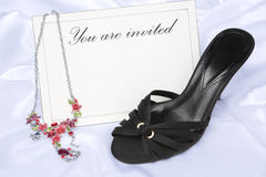 You are invited (lady) Stock Photography