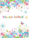 You are invited! Royalty Free Stock Images