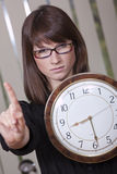 You are late Stock Image