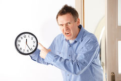 You are late Stock Photography