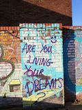 Are you living your dreams stock photography