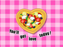 You'll get love today! ;) Royalty Free Stock Image