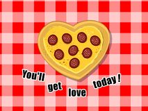 You'll get love today.. again :) Royalty Free Stock Photo