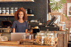 You'll love that you found my cafe Royalty Free Stock Photography