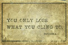 Only lose Buddha Royalty Free Stock Photography