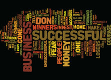 Are You A Loser What Do You Do That Winners Don T Word Cloud Concept Royalty Free Stock Photos