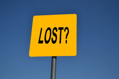 Are you Lost? Stock Photos