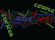 Are You Made For Each Other Word Cloud Concept Royalty Free Stock Images
