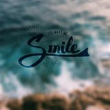 You Make Me Smile Royalty Free Stock Image