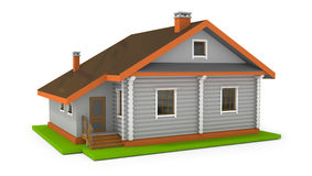 Simple house Stock Photography