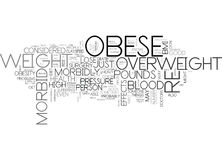 Are You Morbid Obese Word Cloud. ARE YOU MORBID OBESE TEXT WORD CLOUD CONCEPT vector illustration