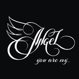 You are my angel_3 Stock Photo
