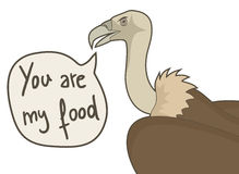 You are my food Royalty Free Stock Photography