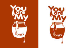 You are my Honey Royalty Free Stock Photo