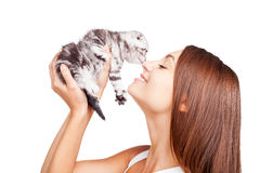 You are my little furry friend! Royalty Free Stock Image