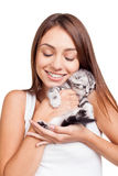 You are my little furry friend! Stock Photos