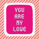 You are my love2 Stock Images