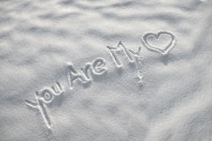 You Are My Love Stock Image