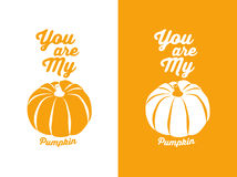 You are my pumpkin Stock Images