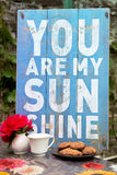 You Are My Sunshine Stock Images