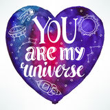 You are my universe Royalty Free Stock Image