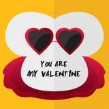 You are My Valentine Design stock photo